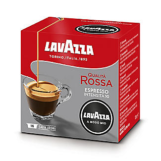 Lavazza A Modo Mio Qualita Rossa Coffee Capsules - Pack of 16