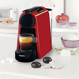 Magimix Nespresso Essenza Mini Coffee Machine Ruby Red 11366 alt image 2