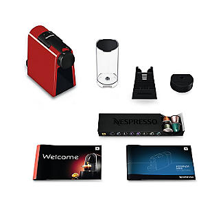 Magimix Nespresso Essenza Mini Coffee Machine Ruby Red 11366 alt image 3