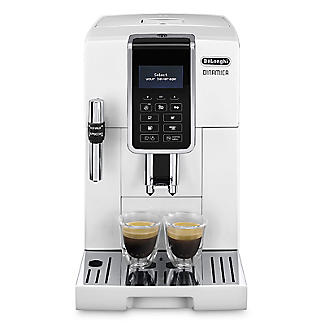 De'Longhi Dinamica Bean-to-Cup Coffee Machine White ECAM 350.35.W alt image 2