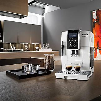 De'Longhi Dinamica Bean-to-Cup Coffee Machine White ECAM 350.35.W alt image 5