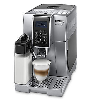De'Longhi Dinamica Bean-to-Cup Coffee Machine Silver ECAM