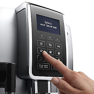 De'Longhi Dinamica Bean-to-Cup Coffee Machine Silver ECAM 350.75.S alt image 3