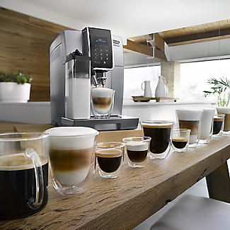 De'Longhi Dinamica Bean-to-Cup Coffee Machine Silver ECAM 350.75.S alt image 6
