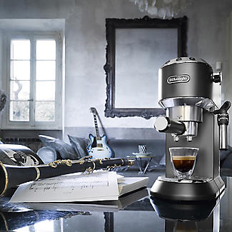 De'Longhi Dedica Coffee Machine Black EC685BLK alt image 2