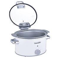Crock-Pot DuraCeramic 4.5L Hinged Lid Slow Cooker CSC038