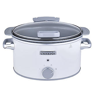 Crock-Pot DuraCeramic 4.5L Hinged Lid Slow Cooker CSC038 alt image 5