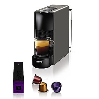 Krups Nespresso Essenza Mini Coffee Maker Grey XN110B40 alt image 7