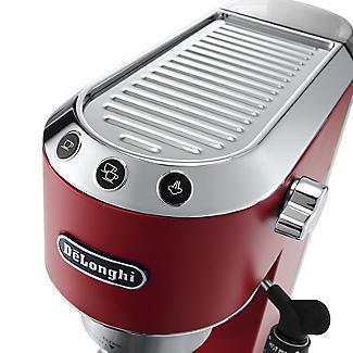De'Longhi Dedica Red Coffee Machine EC685R alt image 2