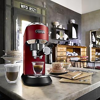 De'Longhi Dedica Red Coffee Machine EC685R alt image 3
