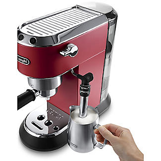 De'Longhi Dedica Red Coffee Machine EC685R  alt image 5