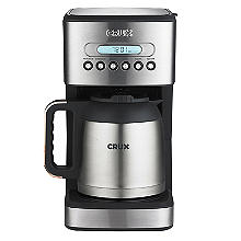 CRUX 10-Cup Thermal Programmable Filter Coffee Machine CRUX005