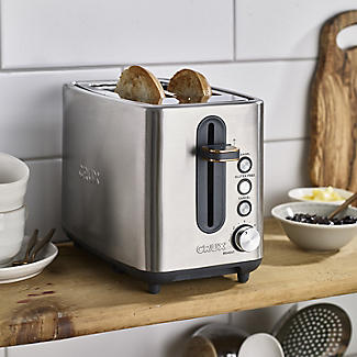 CRUX 2-Slice Toaster Stainless Steel CRUX008 alt image 3