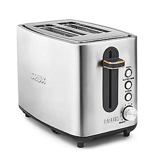 CRUX 2-Slice Toaster Stainless Steel CRUX008 alt image 4