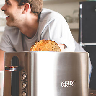 CRUX 2-Slice Toaster Stainless Steel CRUX008 alt image 8