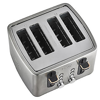 CRUX 4-Slice Toaster Stainless Steel CRUX007 alt image 5