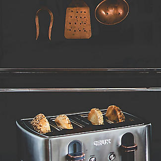 CRUX 4-Slice Toaster Stainless Steel CRUX007 alt image 7