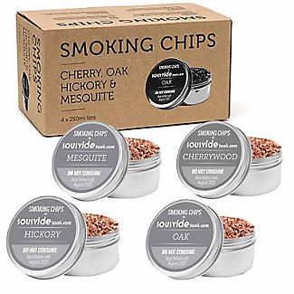 Smoking Chips for Cold Food Smokers 4 x 250ml