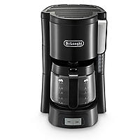 Delonghi Filter Coffee Machine Black ICM15240