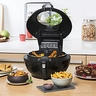 Tefal ActiFry Genius XL Low Fat Fryer Black AH960840 alt image 9