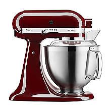 KitchenAid Artisan 185 Stand Mixer Crimson Red 5KSM185PSBCM