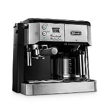 De'Longhi Combi Coffee Machine Silver and Black BCO431.S