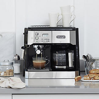 De'Longhi Combi Coffee Machine Silver and Black BCO431.S alt image 2