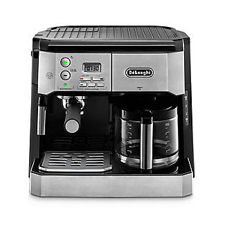De'Longhi Combi Coffee Machine Silver and Black BCO431.S alt image 3
