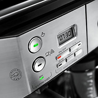De'Longhi Combi Coffee Machine Silver and Black BCO431.S alt image 4