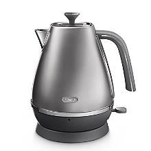 De'Longhi Distinta Flair 1.7L Kettle Finesse Silver KBI3001.S