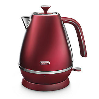 De'Longhi Distinta Flair 1.7 L Kettle Glamour Red KBI3001.R alt image 1
