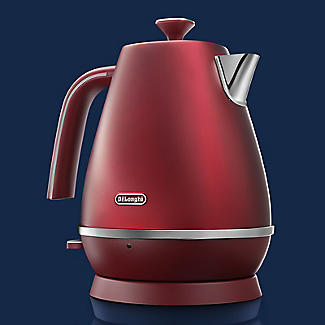 De'Longhi Distinta Flair 1.7 L Kettle Glamour Red KBI3001.R alt image 2