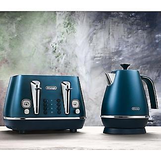 De'Longhi Distinta Flair 1.7L Kettle Prestige Blue KBI3001.BL alt image 4