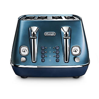 De'Longhi Distinta Flair 4-Slice Toaster Prestige Blue CTI4003.BL