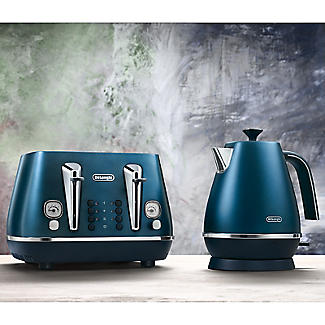 De'Longhi Distinta Flair 4-Slice Toaster Prestige Blue CTI4003.BL alt image 4