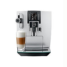 Jura J6 Bean-To-Cup Coffee Machine Brilliant Silver 15111