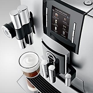 Jura J6 Bean-To-Cup Coffee Machine Brilliant Silver 15111 alt image 4