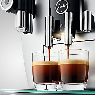 Jura J6 Bean-To-Cup Coffee Machine Brilliant Silver 15111 alt image 6