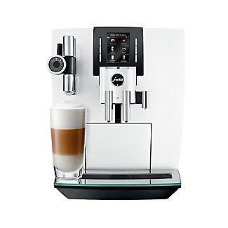 Jura J6 Bean-To-Cup Coffee Machine Piano White 15165