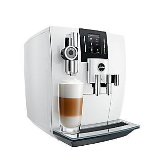 Jura J6 Bean-To-Cup Coffee Machine Piano White 15165 alt image 3