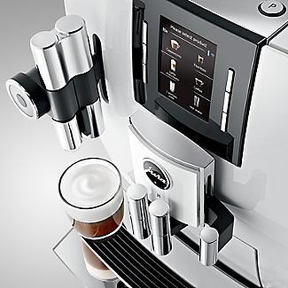 Jura J6 Bean-To-Cup Coffee Machine Piano White 15165 alt image 4