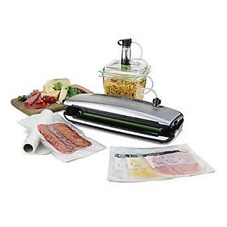 FoodSaver Compact Vacuum System Food Vacuum Sealer FFS015 alt image 5