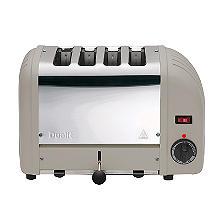 Dualit Classic Vario 4 Slice Toaster Shadow 40577