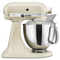 KitchenAid Artisan 175 Stand Mixer Almond Cream 5KSM175PSBAC