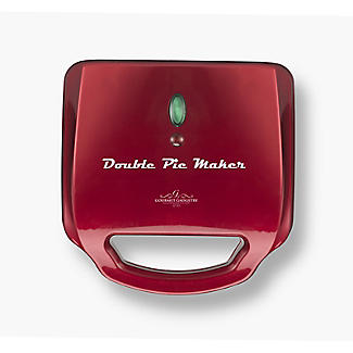 Gourmet Gadgetry Retro Diner Double Pie Maker alt image 6