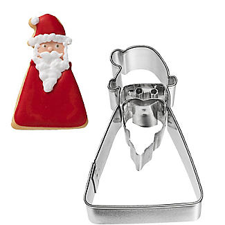 Father Christmas Geometric Cookie Cutter