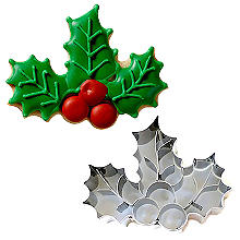 Holly and Berries Cookie Cutter