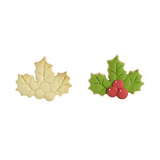 Holly and Berries Cookie Cutter  alt image 2