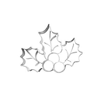 Holly and Berries Cookie Cutter  alt image 3
