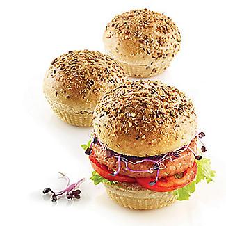 Silikomart 6-Hole Silicone Burger Bread Mould alt image 5